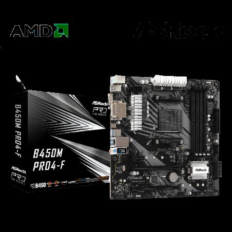 PLACA AMD ASROCK B450M PRO4...
