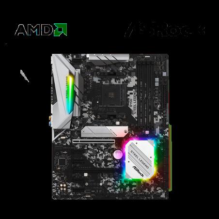 PLACA AMD ASROCK B450 STEEL...
