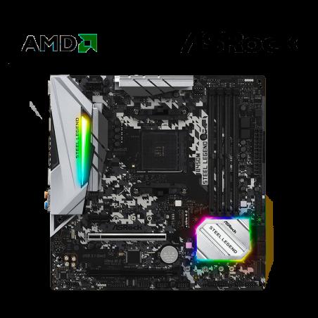 PLACA AMD ASROCK B450M...
